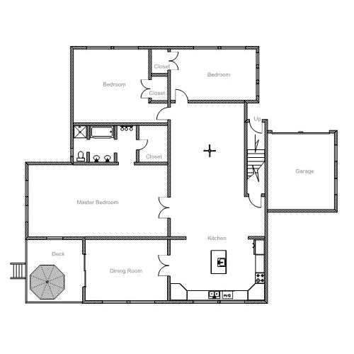 Easy to use floor plan drawing software for House plan drawing samples