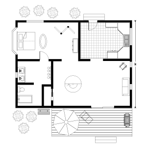 Easy to use floor plan drawing software for Easiest floor plan software