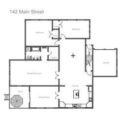 Easy to use floor plan drawing software for Draw a floorplan to scale for free