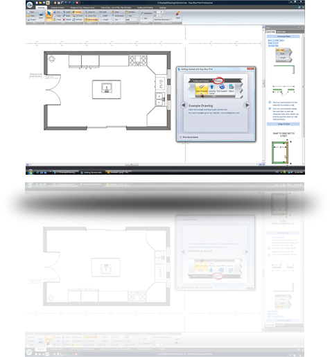 Easy to use floor plan drawing software for Floor plan drafting software