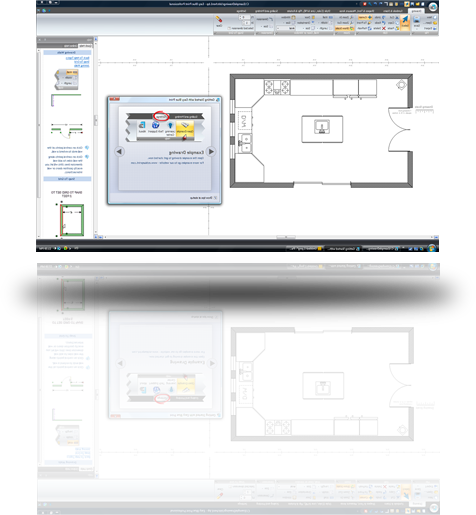 Easy to use floor plan drawing software Home plan drawing software