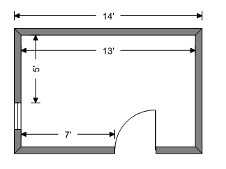 Adjust wall length after